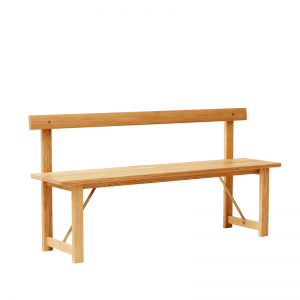 FORM & REFINE - POSITION BENCH 155 - Eiken eetkamerbank naturel geolied