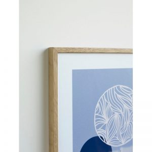 Hubsch Interior - Eiken posterlijst met afbeelding 42x30cm - 880815
