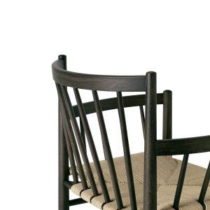 FDB Furniture - J80 Sirka Grijs Eiken eetkamerstoel