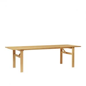 FORM & REFINE - DAMSBO TABLE 245 - Grote eiken eetkamertafel geolied (1)