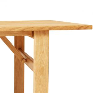 FORM & REFINE - DAMSBO TABLE 245 - Grote eiken eetkamertafel geolied