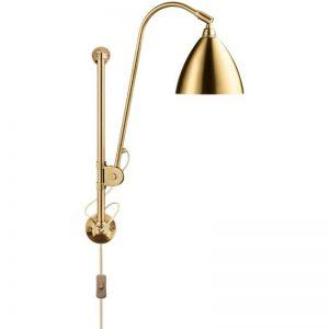 GUBI Bestlite BL5 - GUBI BL5 Wandlamp messing-messing (Shiny Brass)