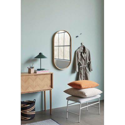 Hubsch Interior - Naturel eiken dressoir met visgraat motief - 880713