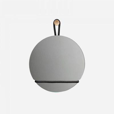 Design House Stockholm - LASSO Round ronde wandspiegel