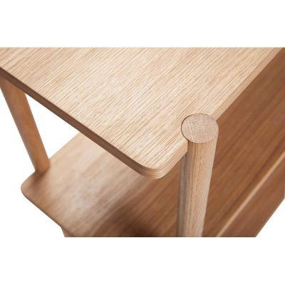 Eiken TV meubel, boekenrek, opbergrek - 880731