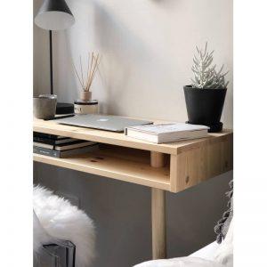 KARUP Design – CAPO bureau, console van FSC® vurenhout – 90 x 40 x h75cm