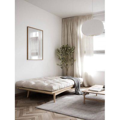 KARUP Design - FOLK bedbank, slaapbank van FSC grenen - Naturel-Wit