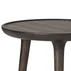 Mater Design ACCENT CAFÉ TABLE - Ronde bistrotafel FSC eiken - Sirka Grijs