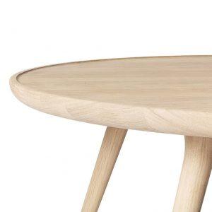 Mater Design ACCENT CAFÉ TABLE - Ronde eiken bistrotafel