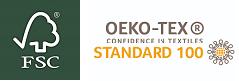 FSC + OEKO-TEX logo