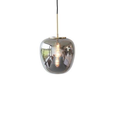 HUBSCH INTERIOR - Hanglamp van spiegelglas en messing - 990722