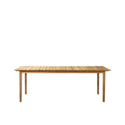 FDB Møbler - M2 SAMMEN - FSC® teak houten tuintafel