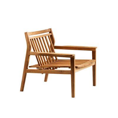 FDB Møbler - M6 SAMMEN - Loungestoel, armstoel van FSC® teak