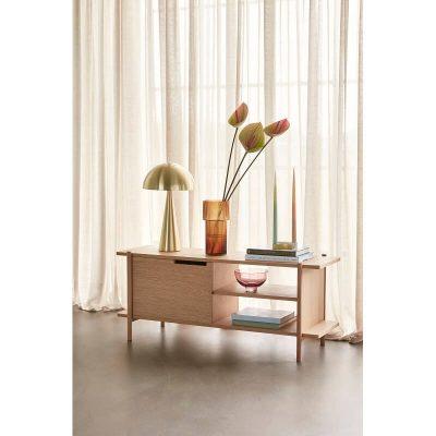 HUBSCH INTERIOR - FSC® eiken dressoir met kastruimte en schappen - 881322