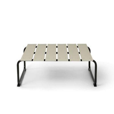 MATER Design OCEAN LOUNGE TABLE - Zandkleurige loungetafel van gerecyclede visnetten - 09343