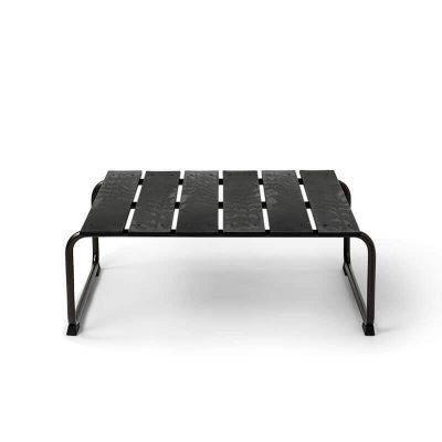 MATER Design OCEAN LOUNGE TABLE - Zwarte loungetafel van gerecyclede visnetten - 09341
