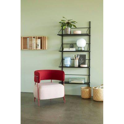 HUBSCH INTERIOR - FSC® eiken houten tijdschriftenrek - 881306