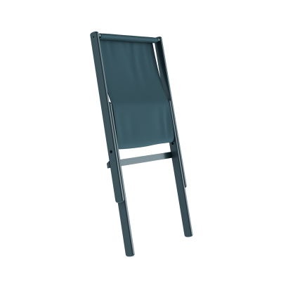 KARUP Design - BOOGIE STAYCATION blauwe loungestoel van FSC® beuken - Blue Breeze