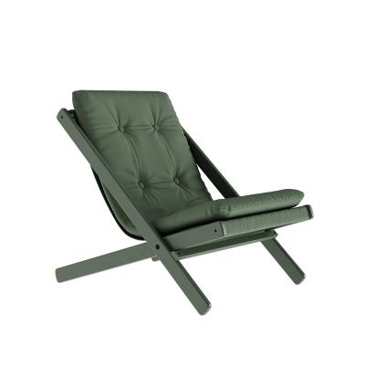 KARUP Design - BOOGIE STAYCATION groene loungestoel van FSC® beuken - Lawn Green