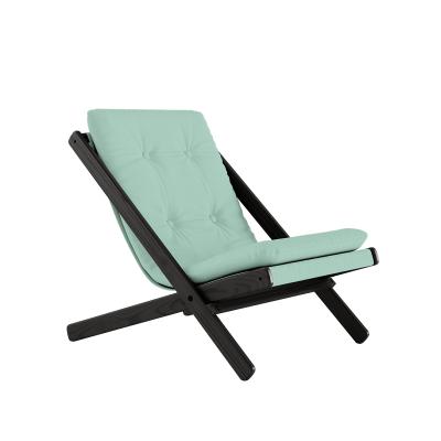 KARUP Design - BOOGIE Zwarte loungestoel van beuken FSC - 750 - Mint