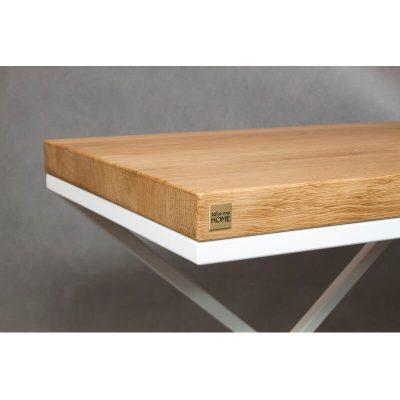 take me HOME. – BEIRUT – Modern nachtkastje of bijzettafel met een metalen frame – 30x50xh47cm