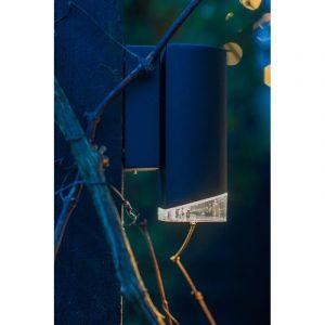 DYBERG LARSEN - RIBE DOWN OUTDOOR zwarte wandlamp van aluminium - 1006