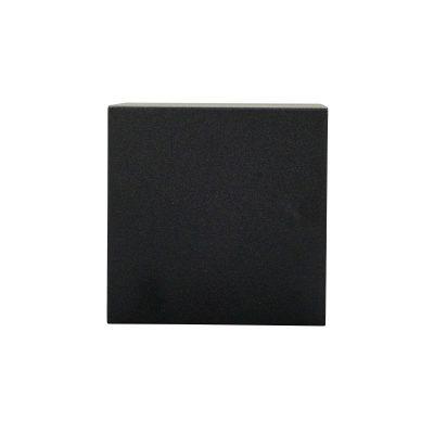 DYBERG LARSEN - VENUS OUTDOOR vierkante zwarte wandlamp - 5704709011132