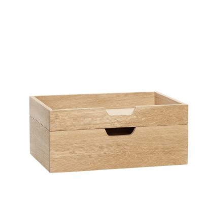 HUBSCH INTERIOR - FSC® Eiken houten brievenbakje - 880511F