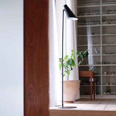 DYBERG LARSEN - CALE vloerlamp matzwart - 7051