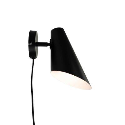 DYBERG LARSEN - CALE wandlamp matzwart - 7152
