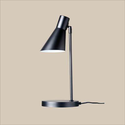 DYBERG LARSEN - DENVER matzwarte tafellamp van metaal - 7042