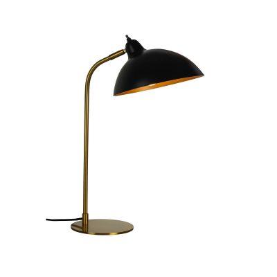 DYBERG LARSEN - FUTURA tafellamp zwart-messing - 7220