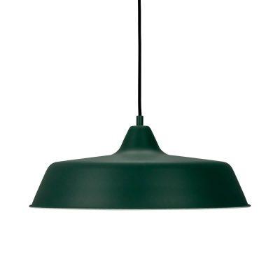 DYBERG LARSEN - RAW Industriële hanglamp DONKERGROEN - 8162