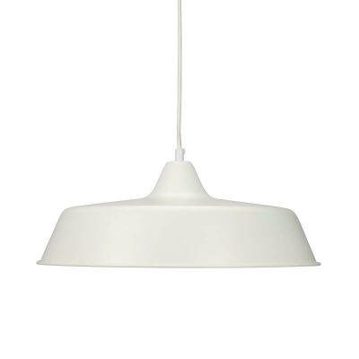 DYBERG LARSEN - RAW Industriële hanglamp WIT - 8161