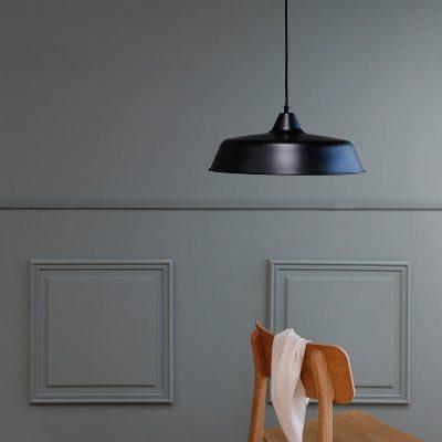 DYBERG LARSEN - RAW Industriële hanglamp ZWART - 8160